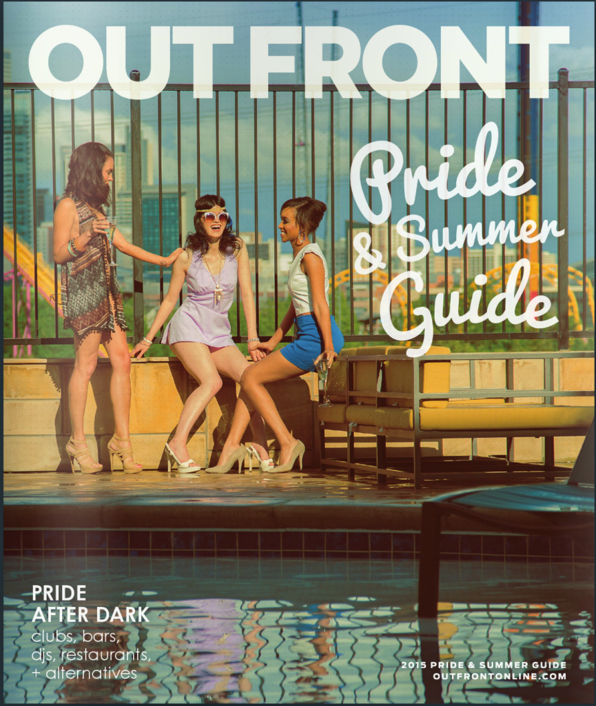 Out Front Magazine Cover Photography