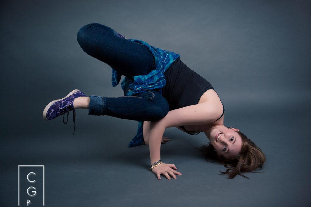 Break Dance Senior Pictures