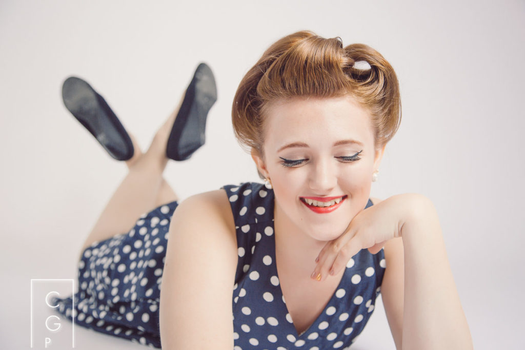 Pin Up Senior Pictures